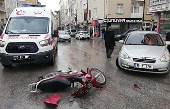 Sekiçeşme'de Trafik Kazası: 1 Yaralı