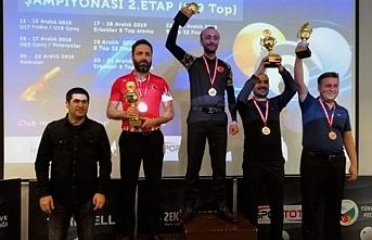 Sporcumuz Sami Köylü'den Çifte Şampiyonluk