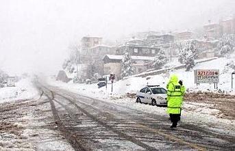Alacabel Ve Sertavul Geçitlerinde Kar Yağışlarına...