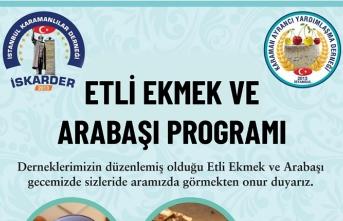 """""""İstanbul'da Karamanlılar Buluşuyor"""" Etkinliği Yapılacak"""
