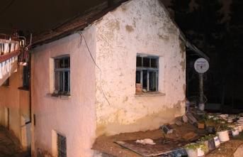 Karaman'da Kerpiç Ev Yangını