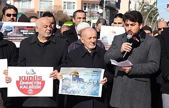 Karaman'da STK'lar Kudüs İçin Tek Yürek Oldu