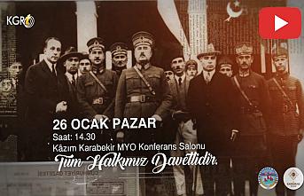 Kazimkarabekir Paşa Ölümünün 72. Yilinda Anilacak