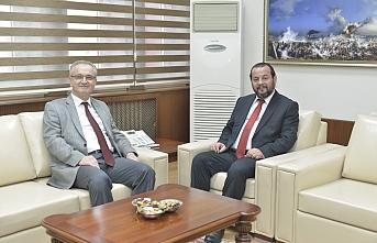 Rektör Akgül, Rektör Özçelik'i Ağırladı