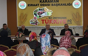 Karaman'da Elmaları Artık Sertifikalı İşçiler...