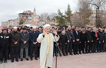 Karaman'da İdlib Şehitleri İçin Gıyabi Cenaze...