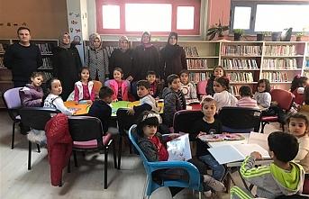 Karaman'ın En Çok Okuyan Okulundan Kütüphane...