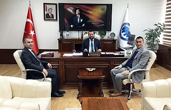 TAŞFED Yönetim Kurulu Başkanı Özrek'ten Rektör...