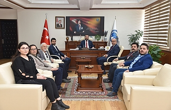 CHP Heyetinden Rektör Akgül'e Ziyaret