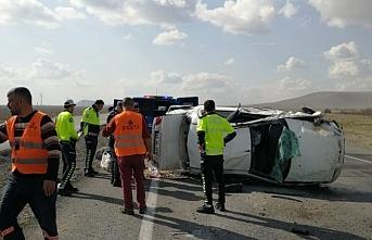 Ereğli'de Kontrolden Çıkan Otomobil Takla Attı: 4 Yaralı