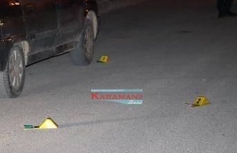 Karaman'da İkamete Tüfekle Ateş Edip Kaştılar
