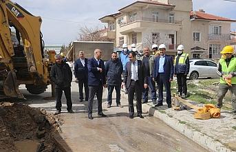 Karaman'da Bir Mahalle Daha Doğalgaza Kavuşuyor