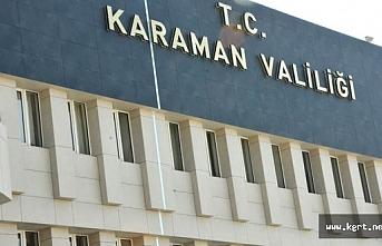 Karaman'da Koronavirüs Tedbirleri Toplantısı...