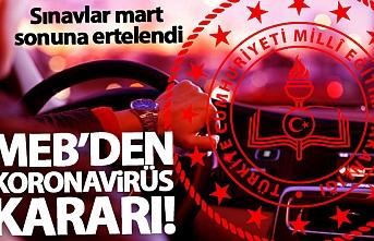 Milli Eğitim Bakanlığı`ndan Koronavirüs Kararı!