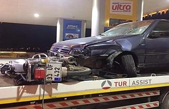 Mut'ta Motosiklet İle Otomobil Çarpıştı: 1 Ölü, 1 Yaralı