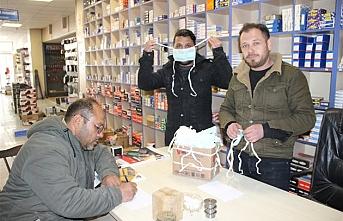 Sanayi Esnafından Vatandaşlara Ücretsiz Maske