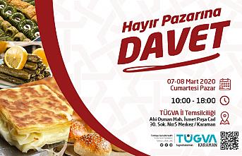 Türkiye Gençlik Vakfı`nın Hayır Pazarına Davetlisiniz