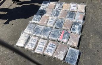 34 Kilo 795 Gram Kokain Ele Geçirildi