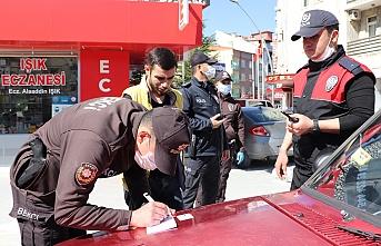 Karaman'da 20 Yaş Altı İki Gence Tutanak Tutuldu