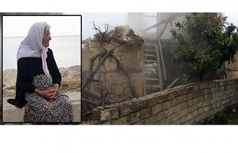 Karaman'da Yangında Ölen Yaşlı Kadın Defnedildi