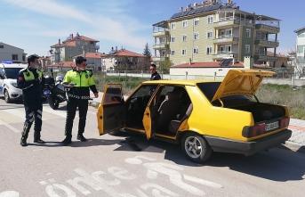 Polisten Kaçan Sürücü Yakalandı