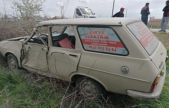 Ereğli'de Kontrolden Çıkan Otomobilin Sürücüsü...
