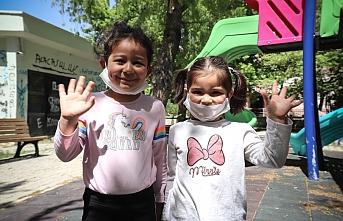 Karaman'da Sokak ve Parklar Çocuklarla Şenlendi