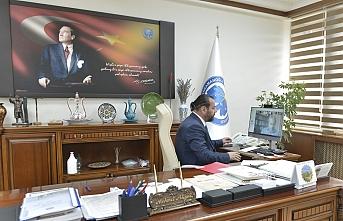 KMÜ`de Uzaktan Erişimli Senato Toplantısı