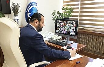 Rektör Akgül, Telekonferans Yöntemiyle ÜAK ToplantısınaKatıldı