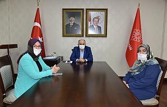 Bağımlılıkla Mücadele Derneği Başkanı Akcan'dan Vali Meral'e Ziyaret