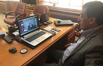 Başkan Çavaş Tarımdaki Sorunları Video Konferans'ta...