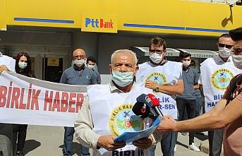 Karaman'da PTT Çalışanları, Postacıya Uygulanan Şiddeti Kınadı
