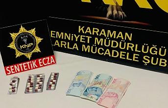 Karaman'da Uyuşturucudan Gözaltına Alınan...