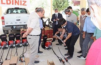 Karaman'da Köylere Makine Desteği