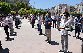 Aktekke Camisinde `Ayasofya` İçin Şükür Namazı ve Duası