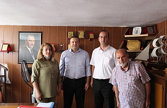 BİK Konya Şube Müdürü Mert'ten Ziyaret
