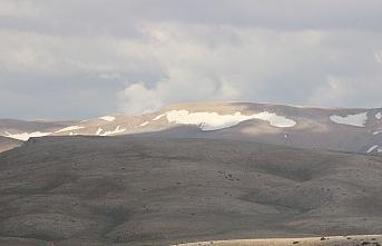 Bolkar Dağındaki Kar, Görenlerin İçini Serinletti