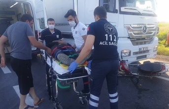 Elektrikli Bisiklet Sürücüsü Yaralandı