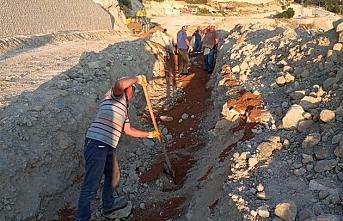 Ermenek'te İçme Suyu Deplase Çalışmaları Devam...