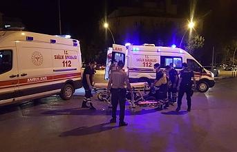 Karaman'da Trafik Kazasında Baba, Kız Yaralandı