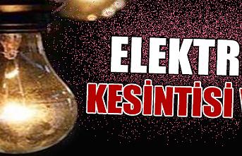 Eminler ve İslihisar Köylerinde Planlı Elektrik...