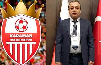 Karaman Belediyespor`da Bayrak Değişimi