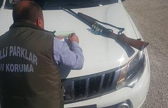 Karaman'da Kaçak Avlanan 13 Kişiye Ceza Yağdı