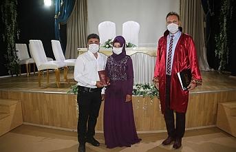 Karaman'da Pandemi Sürecinde 728 Nikah Kıyıldı