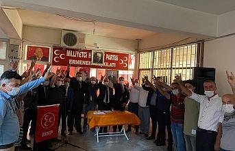 MHP Karaman'da İki İlçede Kongre Yaptı