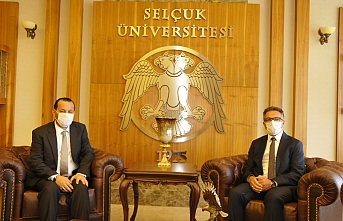 Rektör Akgül'den Selçuk Üniversitesine Hayırlı...