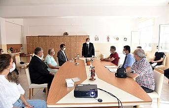 Vali Işık Öğretmenlerin Mesleki Eğitim Çalışmaları Açılış Toplantısına Katıldı
