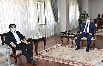 Vali Mehmet Alpaslan Işık'a Ziyaret