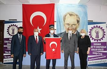 Karaman'ın Ahisi Mehmet Sevim Oldu