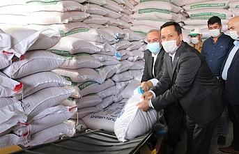 Cumhurbaşkanlığından Zarar Gören Çiftçilere Tohum Desteği